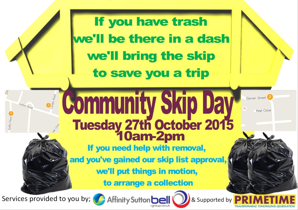 If you have trash we will be there in a dash, we'll bring the skip to save you a trip!